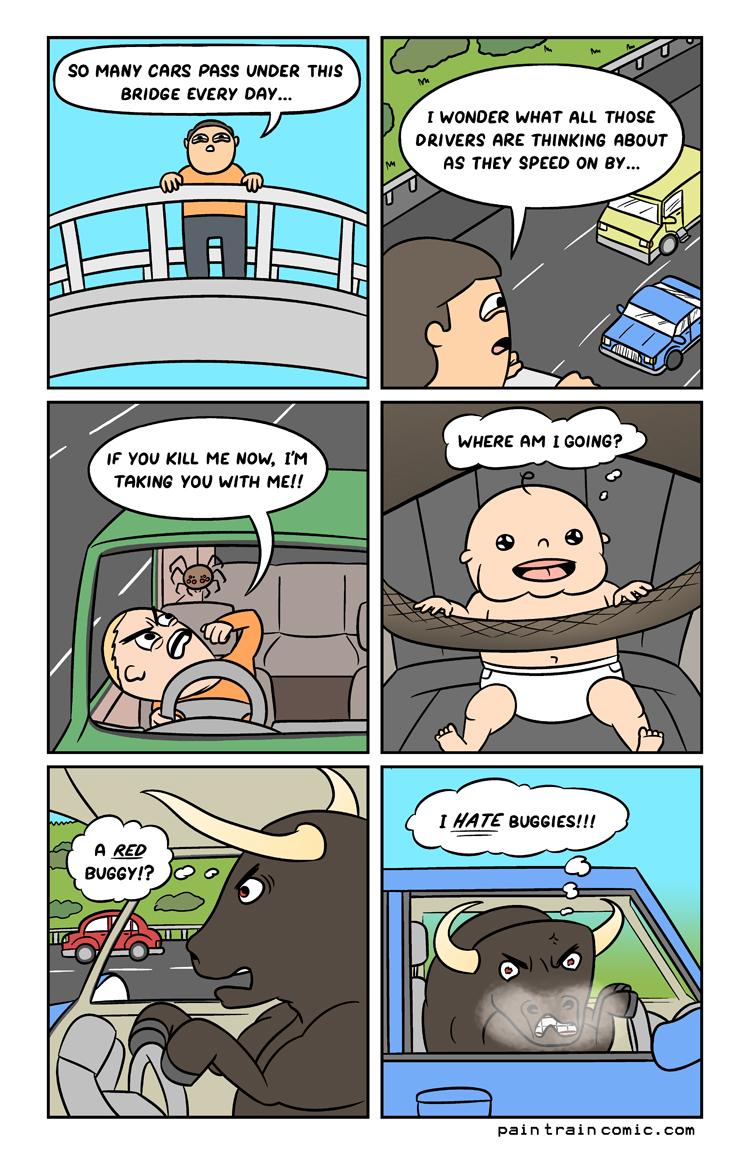 That baby drives better than any of us