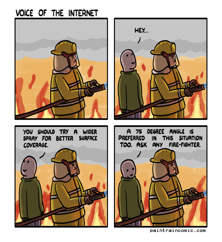 If you just searched this comic for mistakes to point out as a joke, good news! This one's for you.