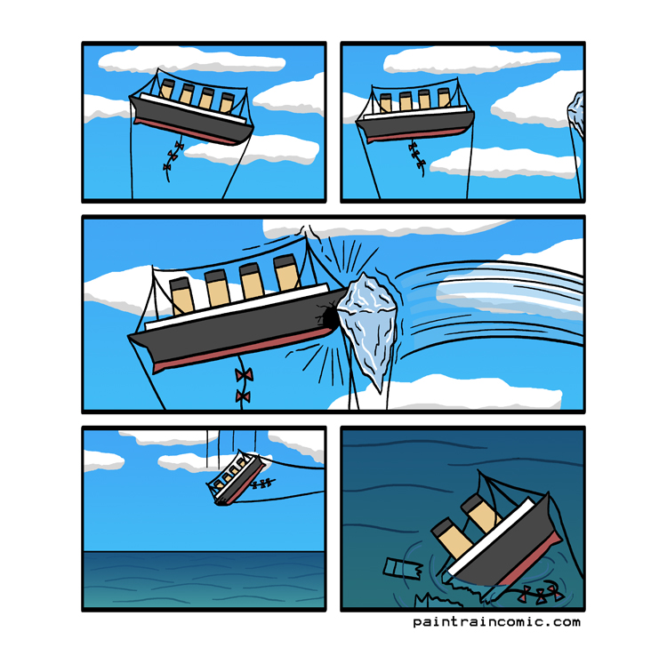 The little lifeboat kites didnt deploy, there were no survivors :(