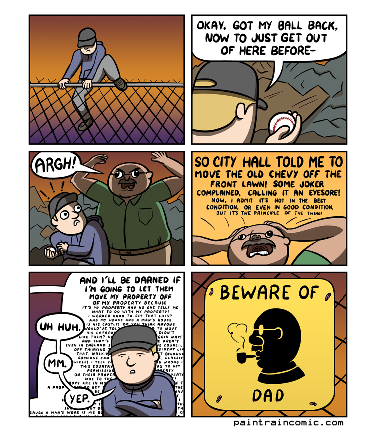 DAD evolved into GRANDAD!