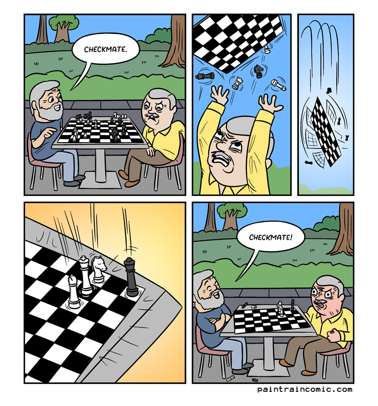 This comic helped to remind me I hate drawing chess comics because if it isn't 100% accurate, I'll hear about it!! :)