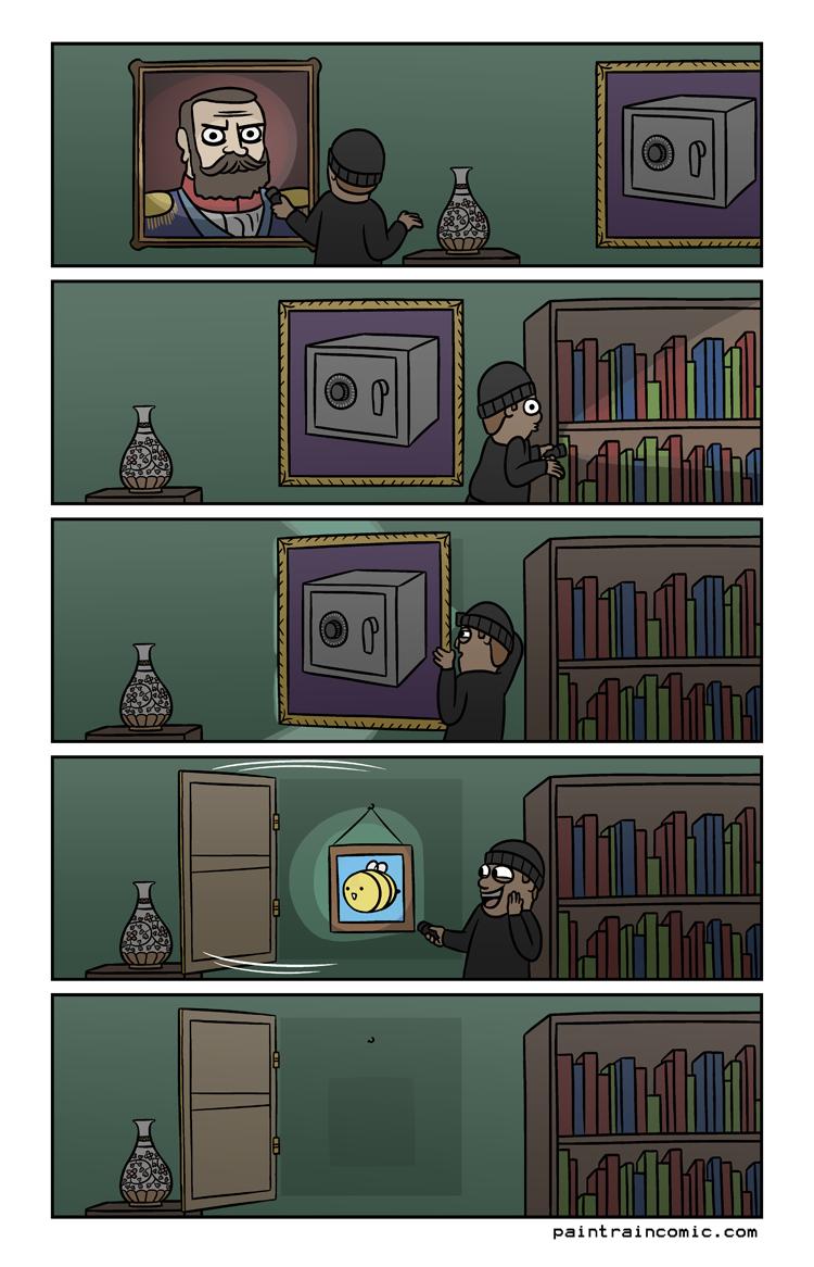 ''Keep it secret! Behind a safe!'' - Gandalf