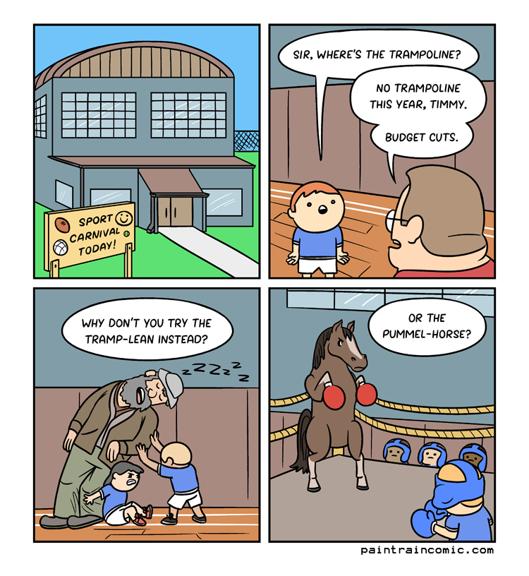 This horse PAID THE SCHOOL for the privilege, that's how this makes sense.