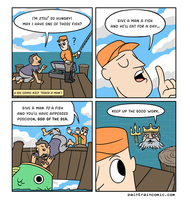 Oliver: Beware of Poseidon